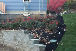 retaining walls and landscape construction